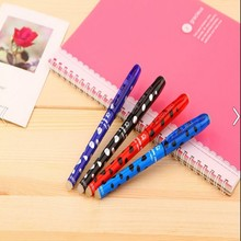 2015 new design erasable ball pen gel pen with special ink