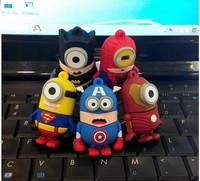 Spider Bat manVsuperman 2.0 USB Flash drive pendrive High quality 3D Printing 32gb usb flash drive with OEM and ODM service
