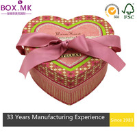 Fancy Fashion Bio-Degradable Heart Shaped Gift Box