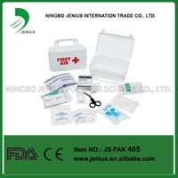 Pieces Emergency Plastic Box First Aid kit CE FDA approved