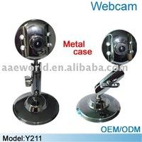 Y211 vimicro USB 2.0 digital pc camera,4 LED light and 5.0mp webcam