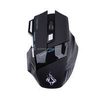 High Quality 5600 DPI 7 Button USB Computer Gaming Mouse Mice LED Optical Wired Computer Gaming Mouse Mice Cable Mouse