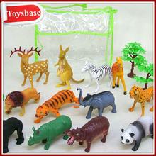 plastik orman hayvan oyuncaklar
