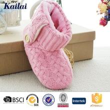 Plastic bag ladies winter durable boots shoes