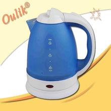 Cheap Price 1.8L Blue Color Plastic Kettle
