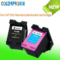 Remanufactured ink cartridge 703 for HP D730 F735