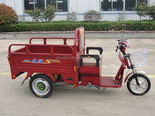 electric cargo trikes / vehicles / bicycles with three wheels