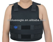 2014 new concealable bulletproof vest level IIIA ballistic vest PE bulletproof vest