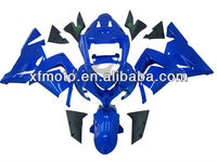For 2004-2005 Kawasaki ZX10R ZX-10R Blue Injection ABS Fairing Body Work kit