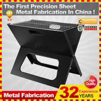 portable charcoal bbq grill stand