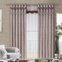 Luxury turkey blackout curtain fabric for door curtain