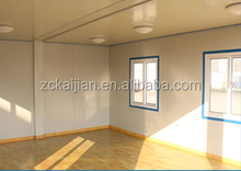 New design luxury portable container house with toilet and office room