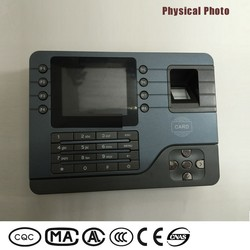 Hot selling office equipment wall mounted biometrics time clock system with IC ID card readers