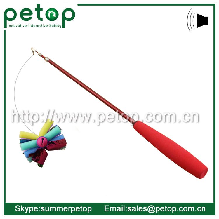 Fishing pole best flying cat toys buy flying cat toy for Cat toy fishing pole