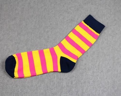 Pánské barevné pruhované ponožky z Aliexpress 2a650a2f19