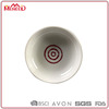 New products durable cafeteria used white melamine small bowl safe