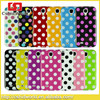 Factory supply For Samsung Galaxy S4 Colourful Case with Dots Patterns