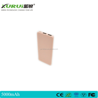 Easy carry promotional gift ultra thin 5000mAh credit card power bank