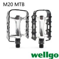 High Quality Wellgo Pedal M20 Ultra light aluminum alloy pedal for Folding bike BMX CQS