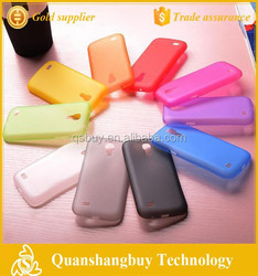 China factory new mobile case 0.3mm soft PP back cover protective skin for samsung galaxy S4 mini i9190 phone case