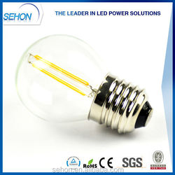 china supplier E26 E27 E12 E14 led filament led bulb 2w 3w 4W 120v 220v led filament lamp/light bulb on alibaba website