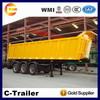 China top one brand 3 axles semi tipper trailers 40t