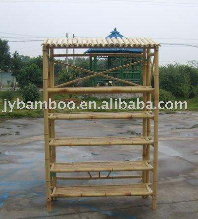 De bambu produtos de prateleira