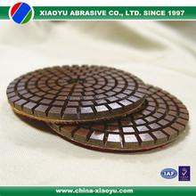 Premium diamond copper bond flexible polishing pad for concrete flooring