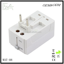 High efficicency power supply with travel plug adapter & world travel adapter and universal travel adapter
