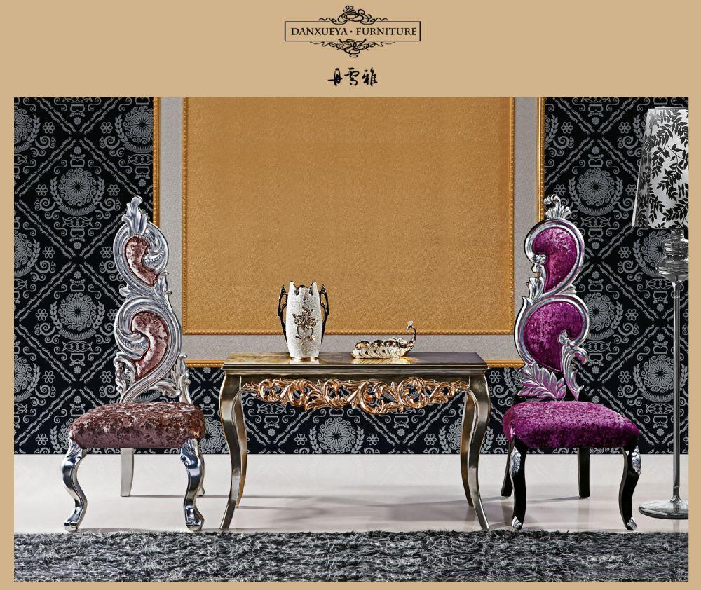 Koninklijke zilveren barok neo rococo luxe prachtige moderne ...