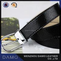 Black Formal Ladies Fashion Fancy Belt with Snake Pattern(WB120903)