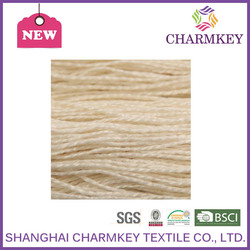 100% bamboo yarn for hand made carpet for family