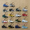 2015 Hot Sale Air Jordan 4 Key Chains Soft PVC Keyrings AJ4 Rubber Keyholders