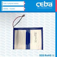 lipo lithium polymer battery / lipo 3.7v 950 mAh