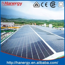 Hanergy concentrated photovoltaic pv solar panel system 20kw with best price