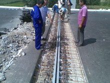 highway bridge shaped steel single slit type expansion joint/Modular Highway Bridge Expansion Joint/highway bridge deformation