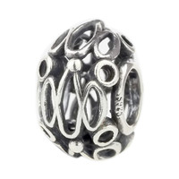 Wholesale City Lights Spacer Bead 925 Sterling Silver Charm Jewelry for European Bracelet