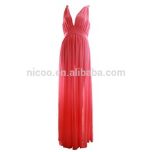 Hot selling plain black long dress kurti made in China