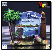 Have one to sell? Sell it yourself TOURIST SOUVENIR Resin 3D FRIDGE MAGNET -- Alanya Turkey