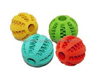 70mm Cheap Rubber Dog Ball Toys , Rubber Ball from Everfriend Manufactory .
