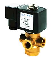 "3 way brass solenoid valve like ASCO 8320 series 1/4"",1/8"""