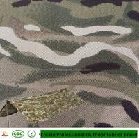 Anti infrared Multicam nylon cordura military uniform tent camouflage fabric
