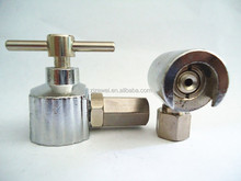 PT1/8 botton head grease fitting coupler with handle