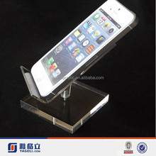 acrylic display for cell phone / iphone 6 display, acrylic cell phone accessory display