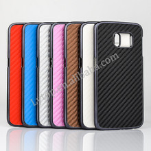 Carbon PC mobile phone Cover For Samsung galaxy S6