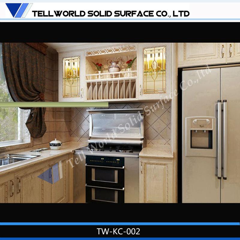 High Glossy Uv Kitchen Cabi. photo - 1