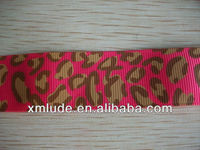 beautiful cartoon printed ribbon/ leopard printed ribbon/ sexy