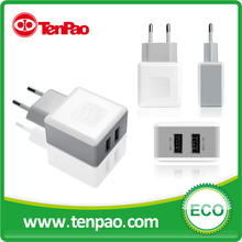 17W 5V 3.4A Dual wall charger