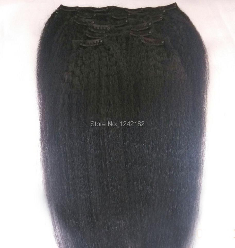 Clip Ins For Natural Black Hair Black Clip in Human Hair