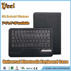 Tablet Case and Universal Keyboard,7/8/9/10 inch Wireless Keyboard,Bluetooth Keyboard Case for Android Tablet/Ipad
